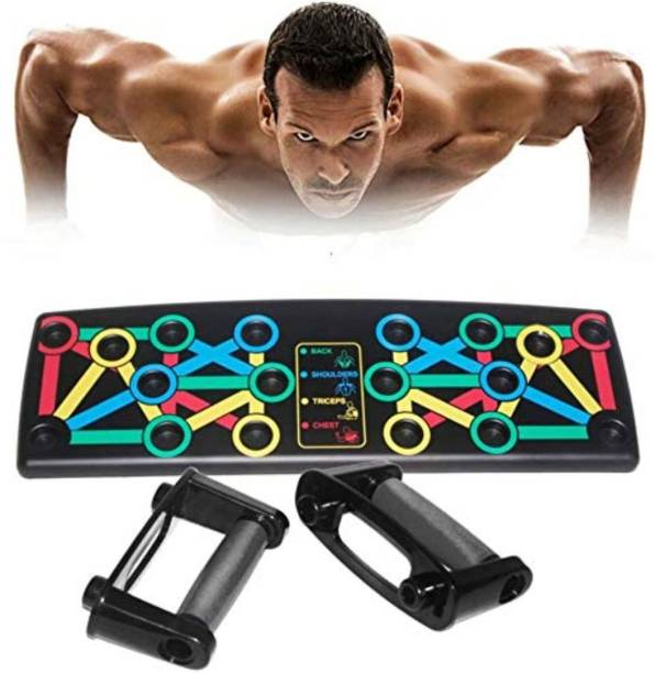 TRIMMO Push-up Bracket Board | Multipurpose Push up Board for Home Fitness Training Push-up Bar