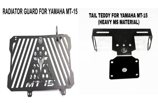 imad RADIATOR GUARD+TAIL TEDDY FOR YAMAHA MT15 Bike Radiator Guard