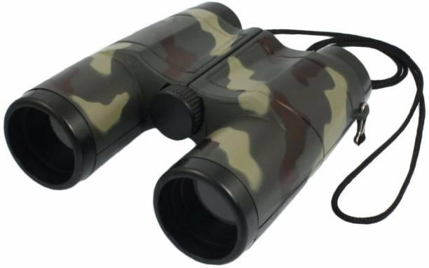 toybest Outdoor Observing Binoculars Telescope Toy For Kids/Spy Gear/Military Color/Folding Binoculars. Binoculars