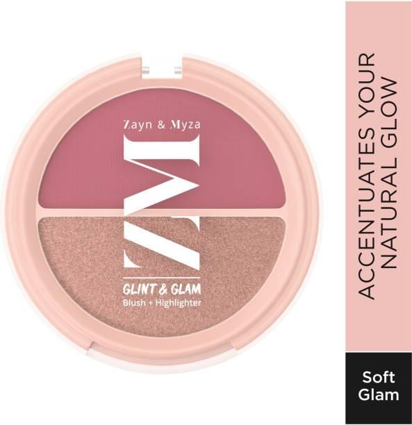 ZM Zayn & Myza Glint & Glam Blush + Highlighter Duo