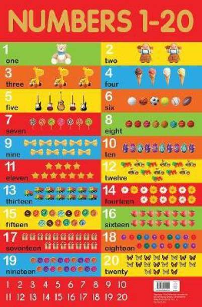 Numbers 1-20 Chart - By Miss & Chief