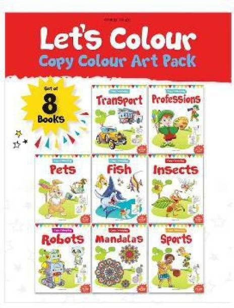 Let's Colour Copy Colouring Pack - By Miss & Chief