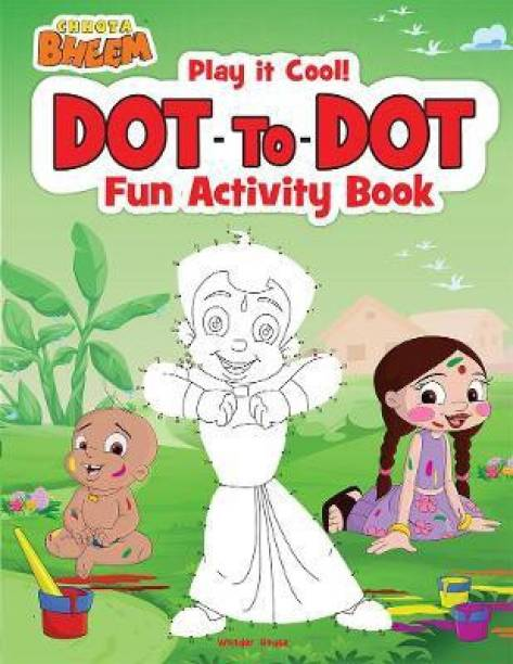 Chhota Bheem - Play it Cool! Dot to Dot - Fun Activity Book By Miss & Chief