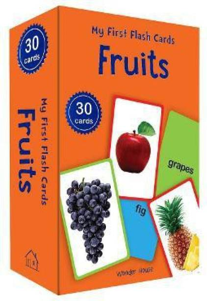 My First Flash Cards Fruits - By Miss & Chief