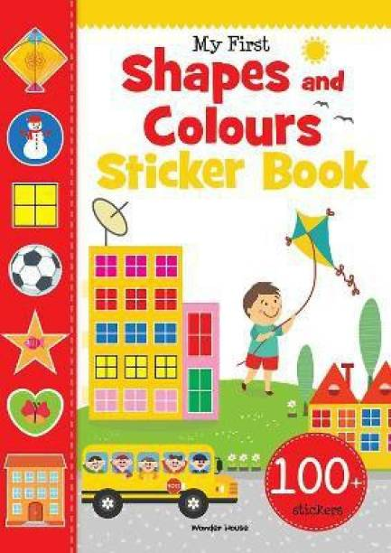 My First Shapes and Colours Sticker Book - By Miss & Chief