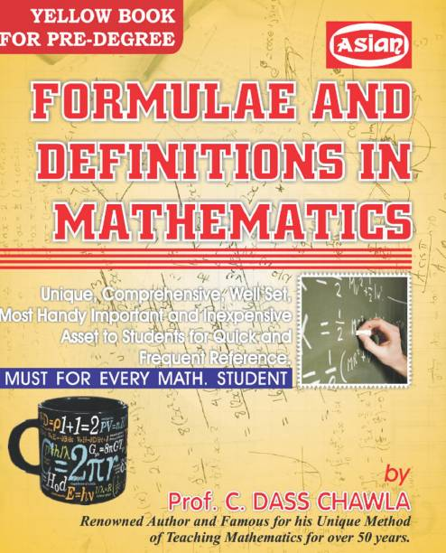 Formulae and Definitions in Mathematics (Yellow Book for Pre. Degree)