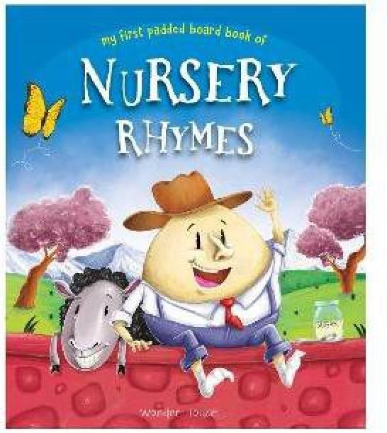Nursery Rhymes Board Book - By Miss & Chief