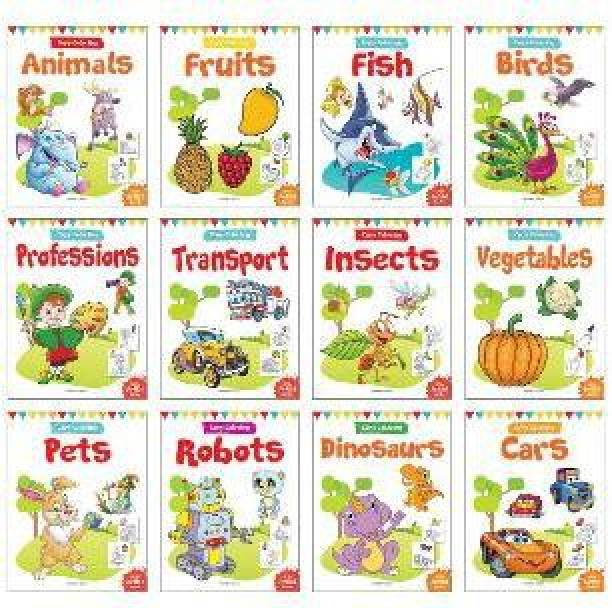 Colouring Books for Kids - By Miss & Chief