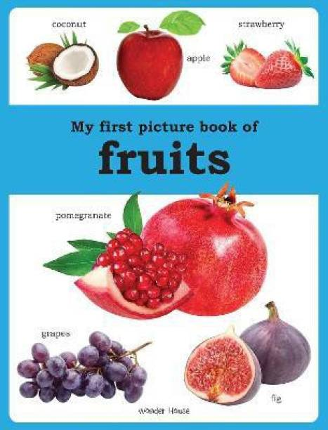 My First Picture Book of Fruits - By Miss & Chief