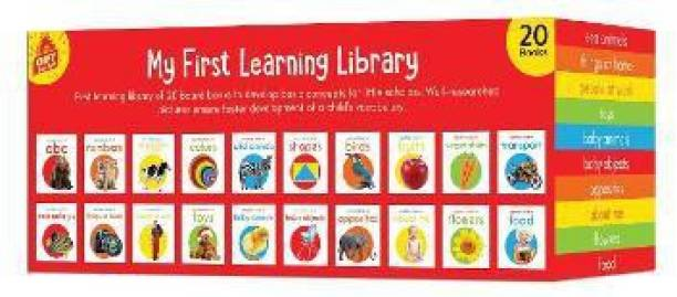 My First Complete Learning Library: Boxset of 20 Board Books Gift Set for Kids By Miss and Chief - By Miss & Chief