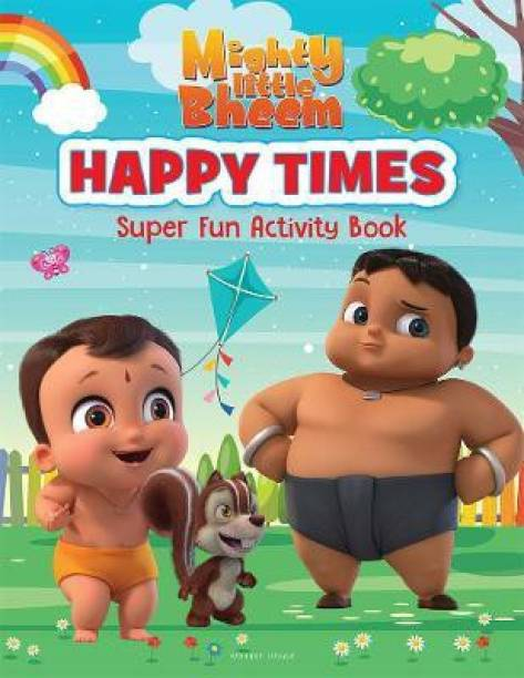 Mighty Little Bheem - Happy Times - Super Fun Activity Book By Miss & Chief