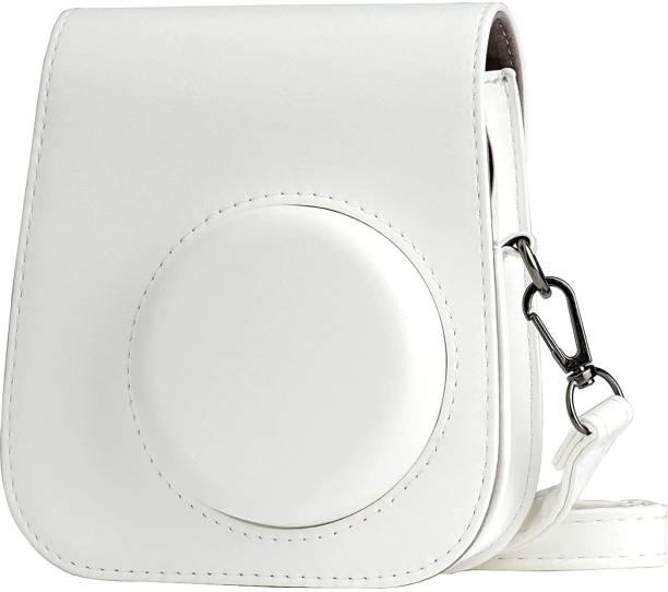 Stela MINI 11 INSTAX CAMERA POUCH BAG Camera Bag (White)  Camera Bag