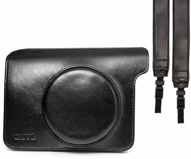 Stela Vintage Instax Wide 300 Leather Black Camera Bag (Black)  Camera Bag
