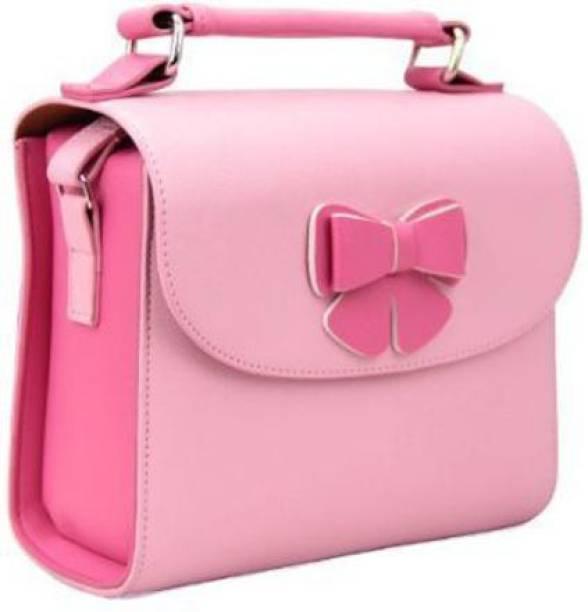 Stela Butterfly Polaroid Camera Bag Camera Bag Side Bag Mini Bag (Pink)  Camera Bag
