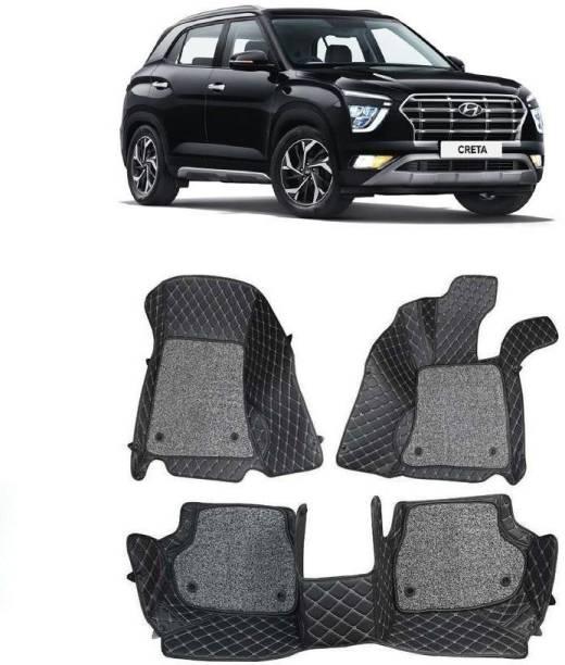 arneja trading company Leatherite 7D Mat For  Hyundai Creta