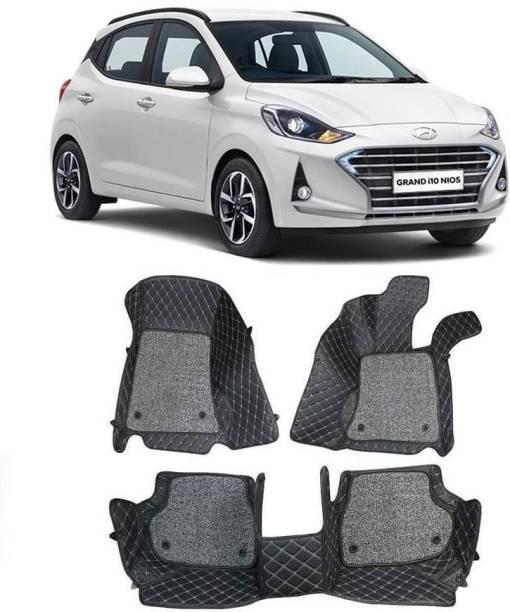 arneja trading company Leatherite 7D Mat For  Hyundai Grand i10 Nios