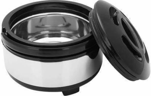 Flipkart SmartBuy Stainless steel Best Premium Quality Simple And Elegant Design Roti Box |Hot Pot| Roti Box | Hot Pot Tiffin (3500ML) Thermoware Casserole