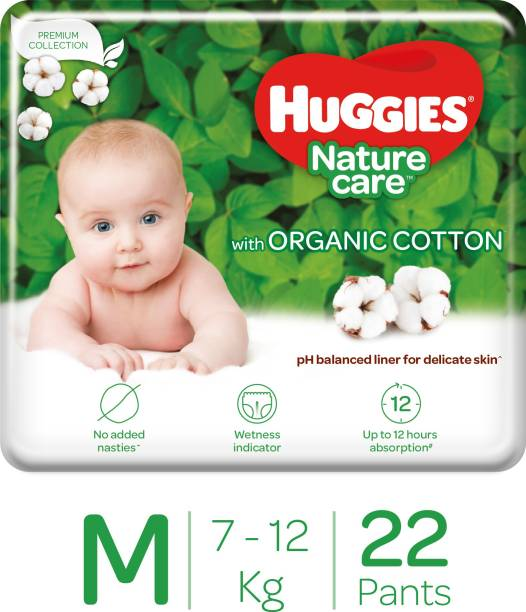 Huggies Nature Care Pants with organic cotton - M