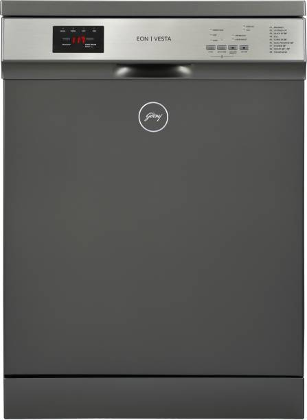 Godrej DWF EON VES 13Z STI GPGR Free Standing 14 Place Settings Dishwasher