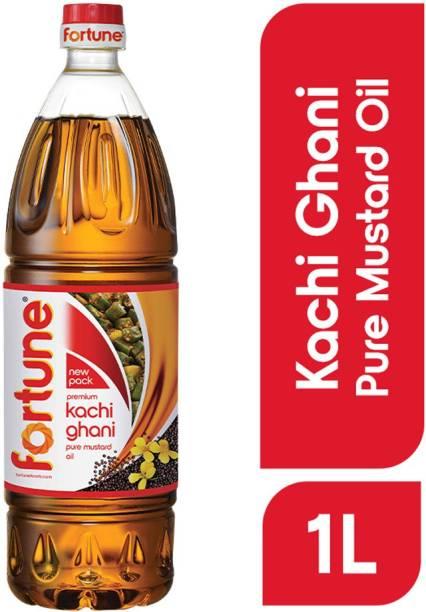 Fortune Kachi Ghani Mustard Oil Plastic Bottle