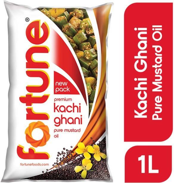 Fortune Kachi Ghani Mustard Oil Pouch