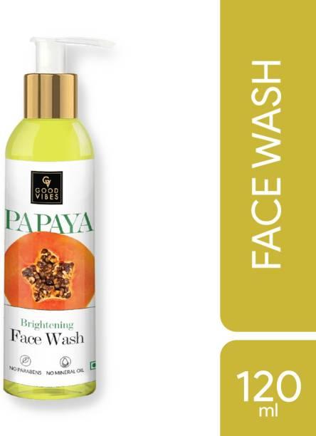 GOOD VIBES Brightening  - Papaya (120 ml) Face Wash