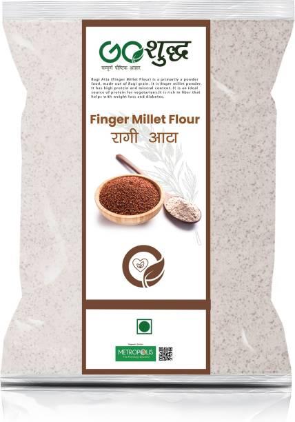 Goshudh Premium Quality Ragi Flour 5KG Pack