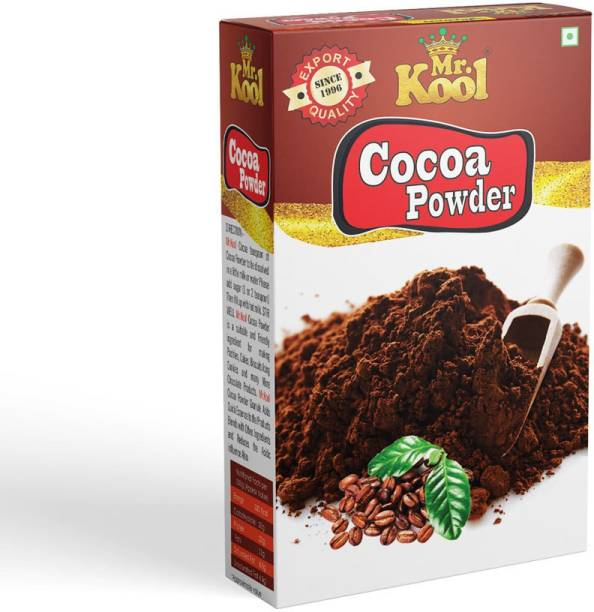 Mr.Kool Rich & 100% Natural Cocoa powder 100g   Used For Cake,Pastries,MIlkshakes,Cupcakes And Many More Desserts   Cocoa Powder