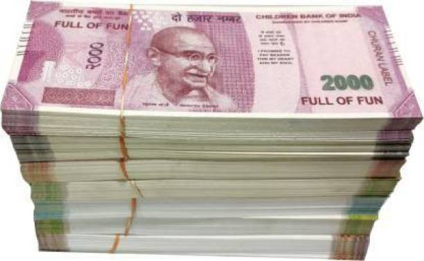MGT CREATION Nakli Notes 10,20,50,100,200,500,2000 (100 X 7 = 700 Notes Each) Dummy Fake note Gag Toy