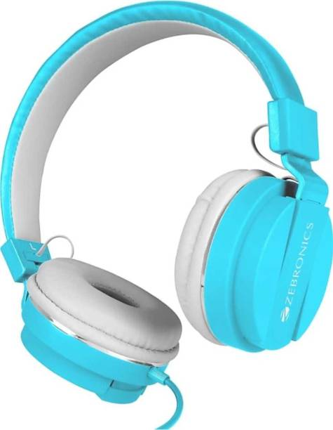 ZEBRONICS ZEB-STORM WIRED ON THE EAR HEADPHONE Wired Headset