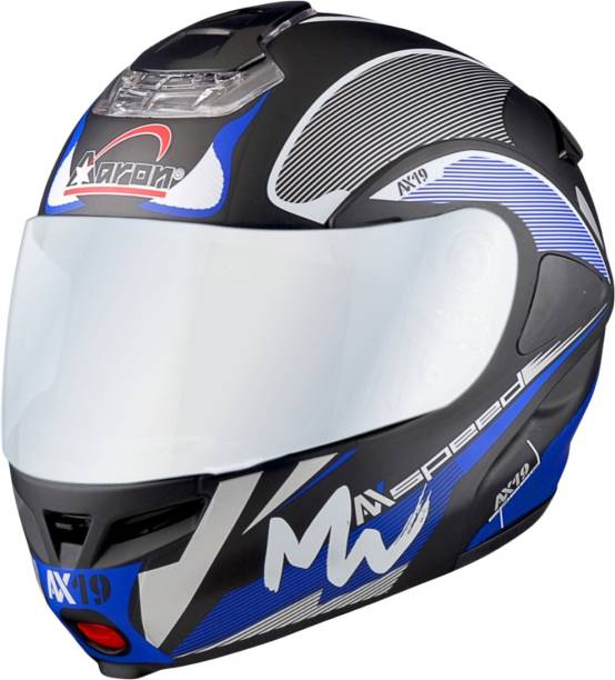 Aaron Hybrid Decor Max Speed Motorbike Helmet