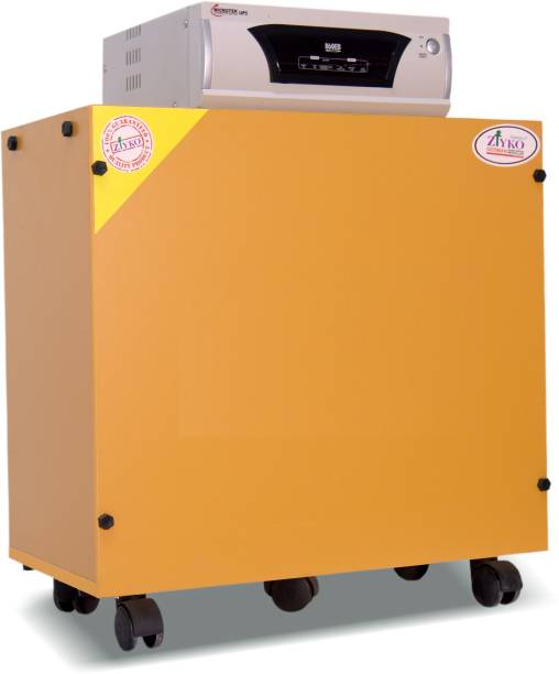 ziyko QUEEN PASTEL ORANGE Trolley for Inverter and Battery