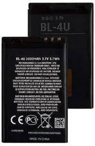 TECHQPMENT Mobile Battery For  NOKIA NOKIA BL-4U BL4U E66 C5-03 5530 5730 5250 210 300 305 306 308 309 311 501 503