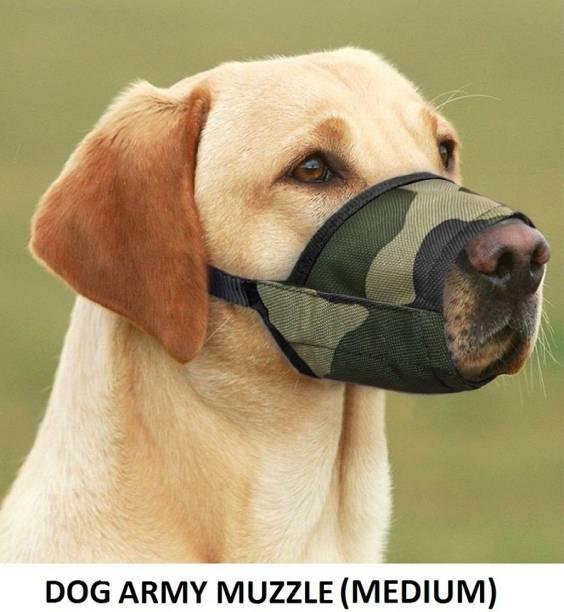 Hachiko Best Quality Multi Ultra High Quality Army Dog Muzzle Nylon Cloth muzzle No 5 Medium Other Dog Muzzle
