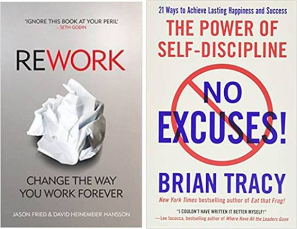 Rework And The Power Of Self-Discipline No Excuse