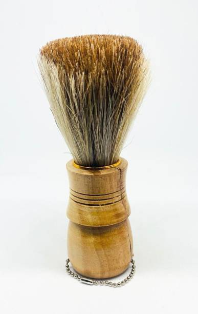 Stylazo Wooden Natural Bristle  For Men Wooden Handle Shaving Brush