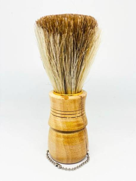 Stylazo Wooden Natural Bristle  For Men and Boys 1 Piece Wooden Handle Shaving Brush