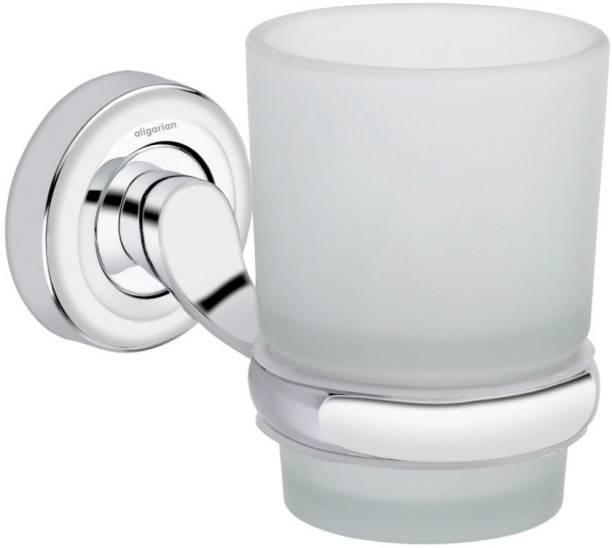 aligarian Steel Bathroom Wall Mounted Round Tumblr Holder