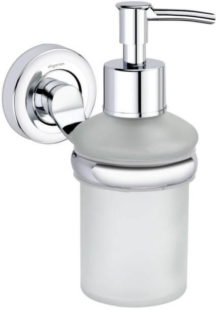 aligarian Steel Bathroom Wall Mounted Round Liquid Shampoo Dispenser