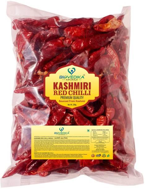 biovedika Kashmiri Red Chilli Stics | 100% Authentic Kashmir Chilli