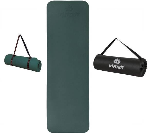 Yogarise 6mm Yoga Mat with Shoulder Strap & Bag Yoga mats for Home Gym & Outdoor 6 mm Yoga Mat