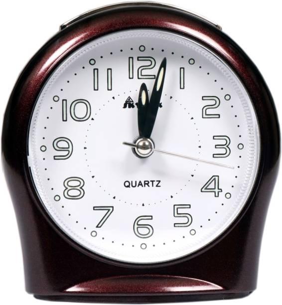 Skymax Analog White, Black Clock