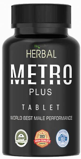 hervedic Herbal Metro Plus Tablets for Virility, Power, Pleasure & Enhanced Performance