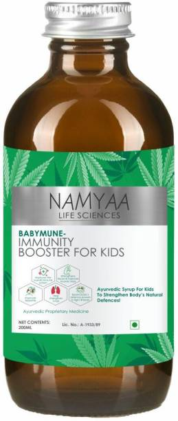 Namyaa Immunity Boosting Syrup for Kids With Tulsi, Giloy and 8 other herbs