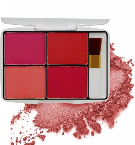 VARS LONDON Pocket matte blusher | matte color combo blusher palette | baked blusher| professional blusher