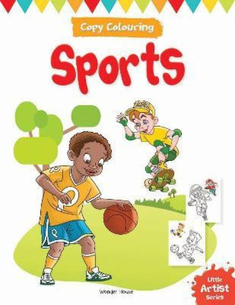 Little Artist Series Sports - By Miss & Chief