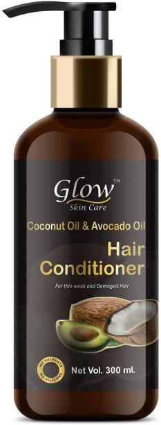 Glow Skin Care Coconut Oil & Avocado Oil Hair Conditioner