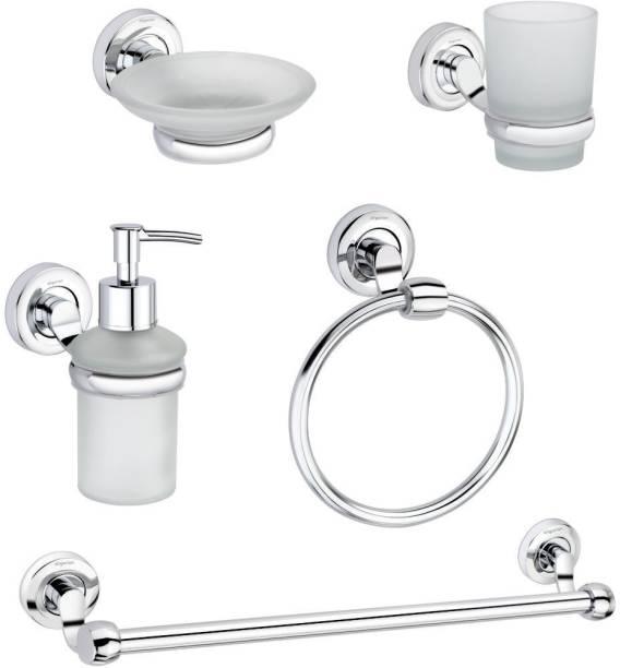 aligarian Steel, Glass Bathroom Set