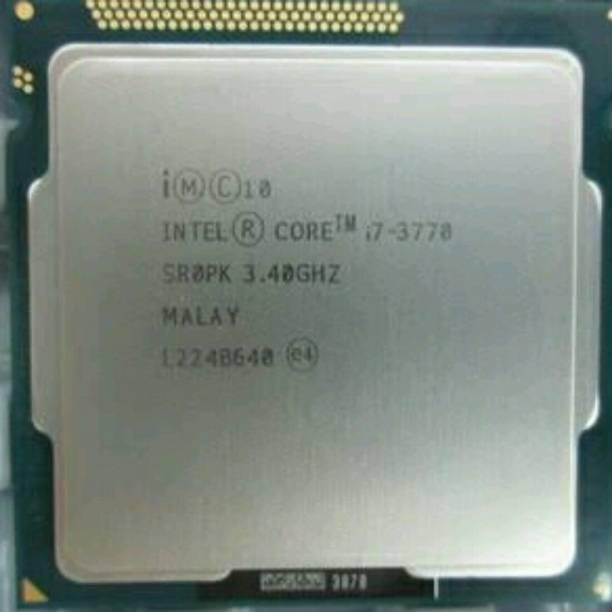 Intel Core i7-3770 3.4 GHz Upto 3.9 GHz LGA 1155 Socket 4 Cores 8 Threads 8 MB Smart Cache Desktop Processor