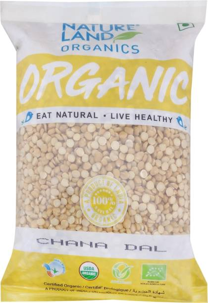 Natureland Organics Chana Dal (Split)